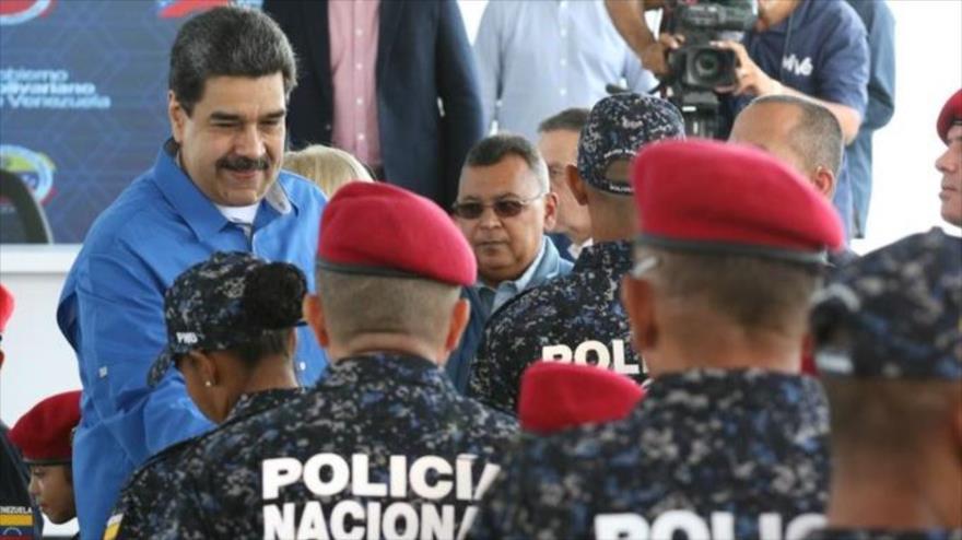 Maduro: EEUU urde complot contra cuerpos policiales venezolanos | HISPANTV