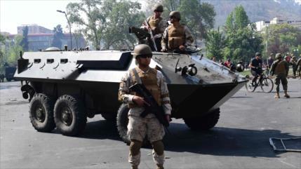 ONU, alarmada por joven aplastado por tanques de Policía chilena