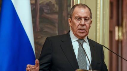 Lavrov: Rusia responderá a sanciones de EEUU contra Nord Stream 2