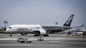 Irán recibe otros tres aviones Airbus pese a sanciones de EEUU