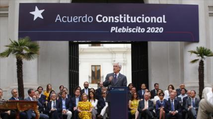 Piñera promulga reforma para realizar plebiscito constitucional