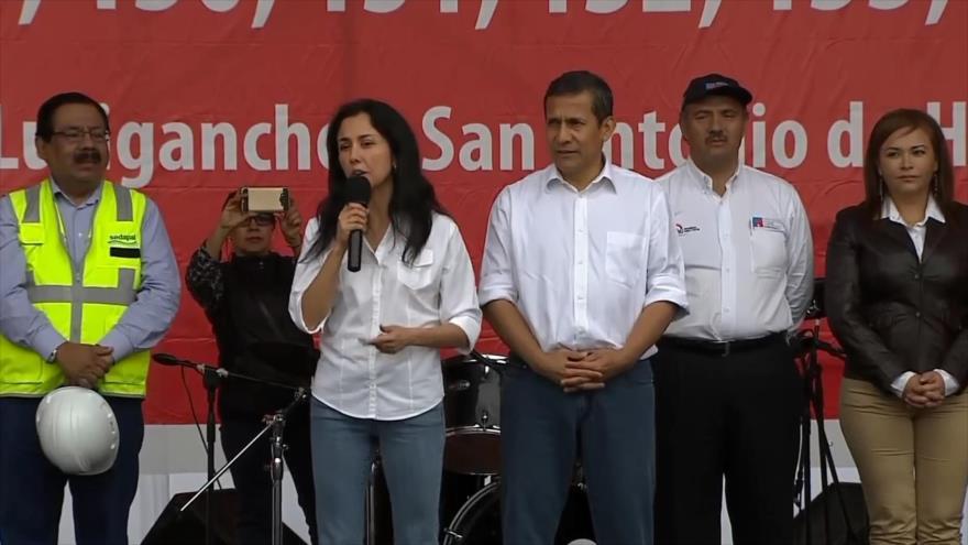 Justicia peruana inicia juicio contra Ollanta Humala y su esposa