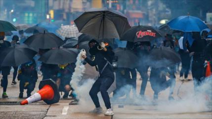 China: Radicales convierten a Hong Kong en una zona muy peligrosa