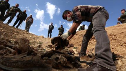 Irak halla 18 fosas comunes de víctimas de Daesh en 2019