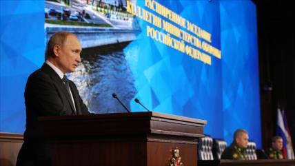 Putin ordena el monitoreo de misiles de EEUU en el mundo