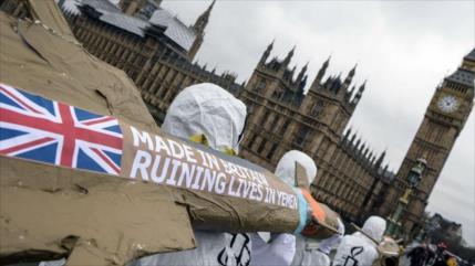 Londres aumenta 45 % venta de armas a Riad, pese a guerra en Yemen