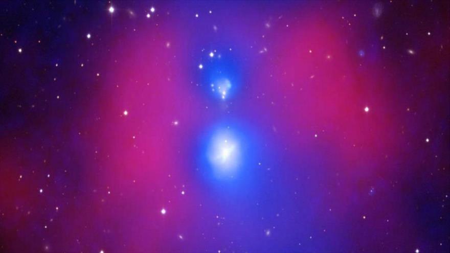 Sistema de galaxias NGC 6338. (Foto: NASA)
