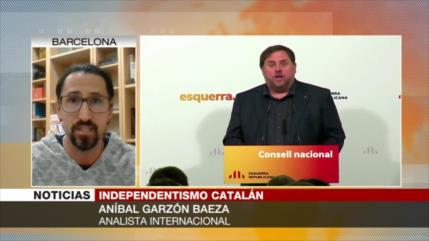 'Estrategia de líder catalán preso es más política que jurídica'