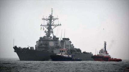 Cazas rusos simulan ataque a buque de EEUU en el mar Negro