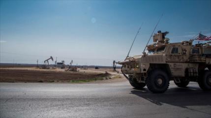 EEUU crea gran base militar en campo petrolero en el este de Siria