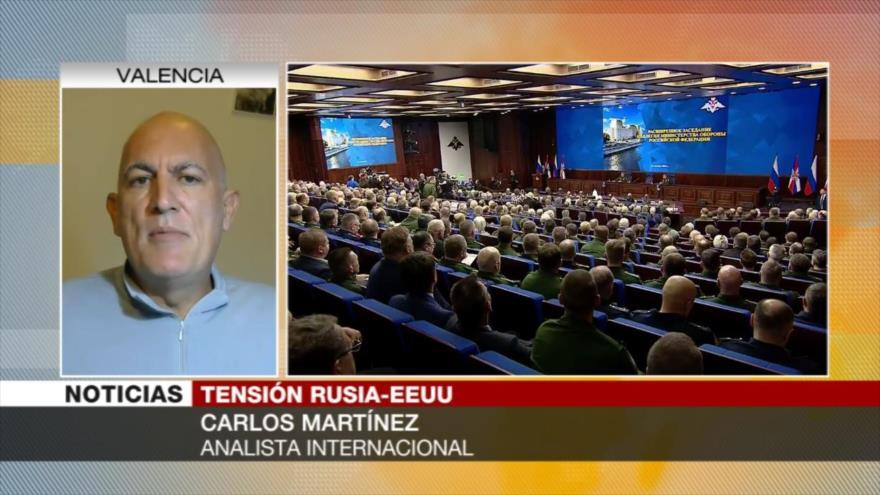Martínez: Rusia se siente engañada por desmantelamiento de INF