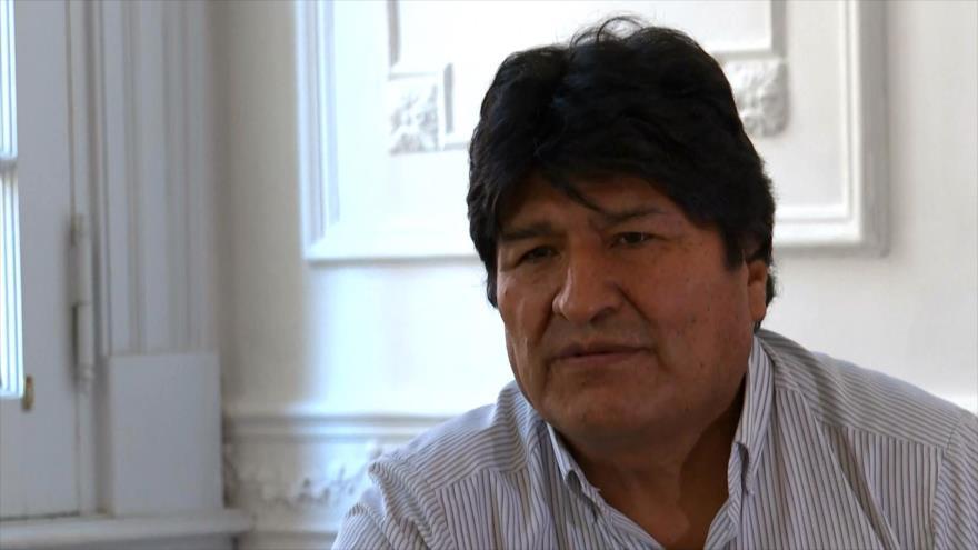 Morales: Con golpe de Estado, EEUU persigue los recursos de Bolivia   HISPANTV