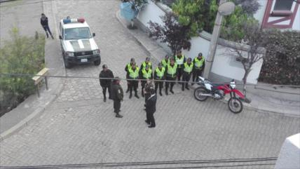 Gobierno de Áñez justifica vigilancia de la embajada mexicana