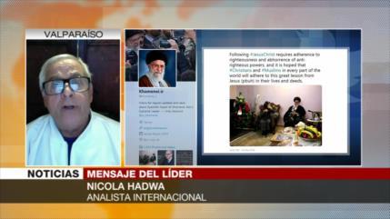 Hadwa: Líder iraní se solidariza con cristianos en mensaje navideño