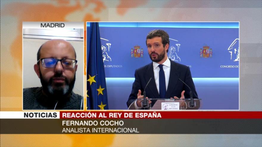 Cocho: Felipe VI no puede resolver cuestiones regionales de España