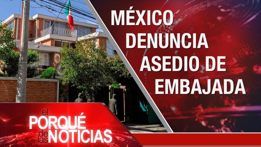 El porqué de las noticias: Sanciones de EEUU. Tensión entre Bolivia y México. Lazos entre China y Japón