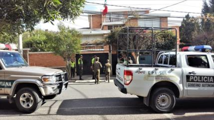 """México repudia """"hostigamiento"""" contra su embajada en Bolivia"""