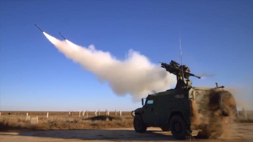 Vídeo: Rusia prueba su nuevo sistema de defensa antiaérea Guibka-S