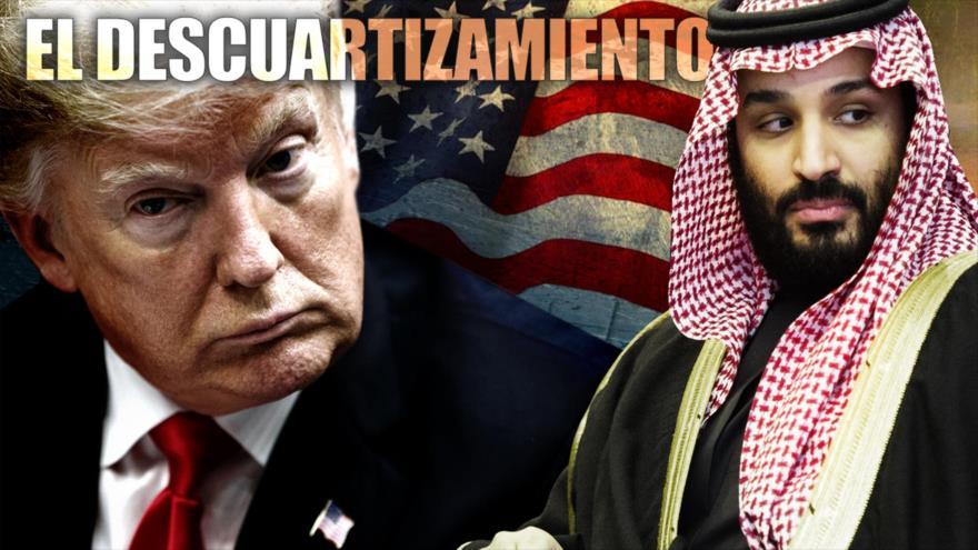 Detrás de la Razón: Descuartizado; lo hicieron pedazos, pero Trump, la CIA y EEUU se disputan la verdad