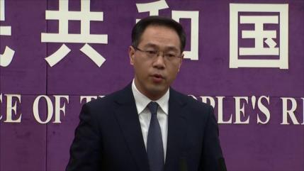 Pekín se opone rotundamente a sanciones de EEUU contra firmas chinas
