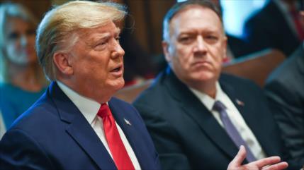 Informe indica que Trump busca un reemplazo para Pompeo
