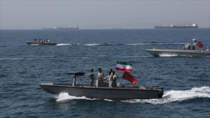 Irán, Rusia y China inician maniobras conjuntas en océano Índico