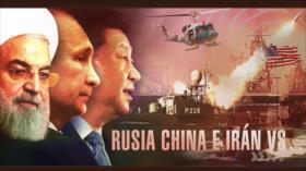 Detrás de la Razón: Irán por primera vez hace ejercicios con las potencias Rusia y China