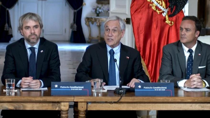 Piñera convoca plebiscito constitucional en Chile para 2020 | HISPANTV