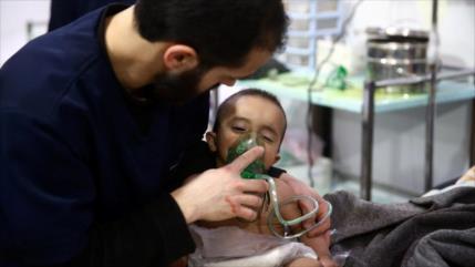 """OPAQ eliminó un informe que negaba ataque químico en Siria"""