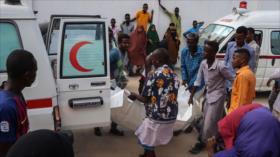 Atentado con coche bomba deja 76 muertos y 70 heridos en Somalia