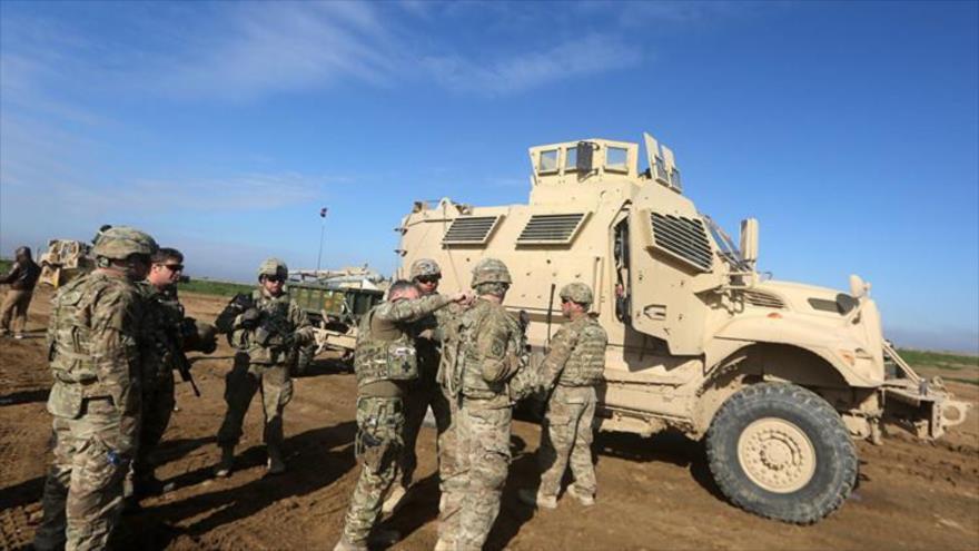 EEUU blinda la seguridad en su base iraquí de Ain al-Assad   HISPANTV