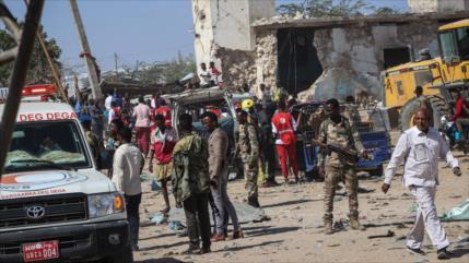 Irán condena el atentado en Somalia que dejó al menos 92 muertos