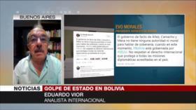 Vior: No hay garantías para elecciones democráticas en Bolivia