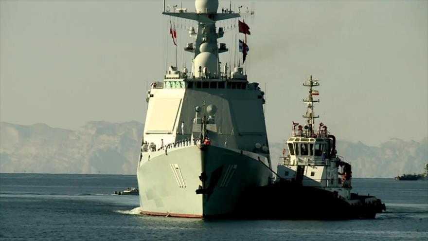 Irán, Rusia y China muestran poderío naval en maniobras conjuntas