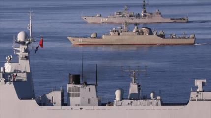 ¿Cómo se desarrollan las maniobras navales Irán-Rusia-China?