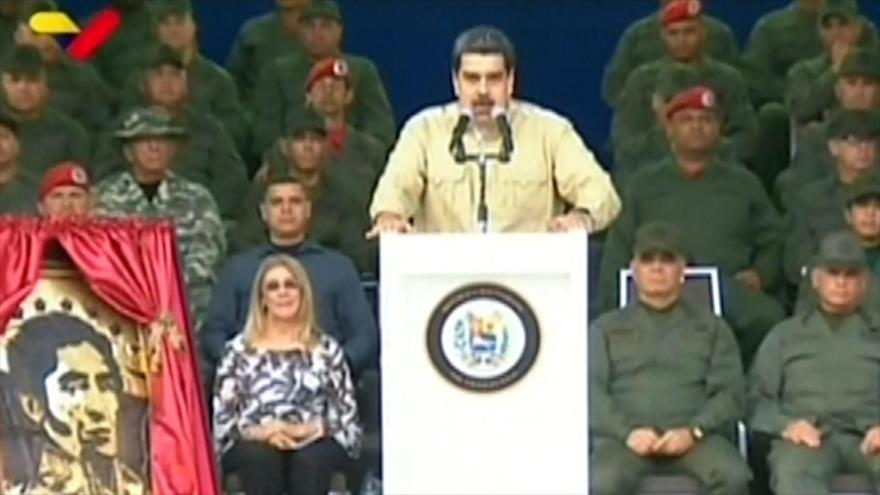 Maduro pide a Brasil entregar a desertores de ataque a cuartel