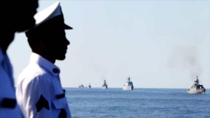"""Irán, China y Rusia finalizan maniobras en """"triángulo dorado"""""""