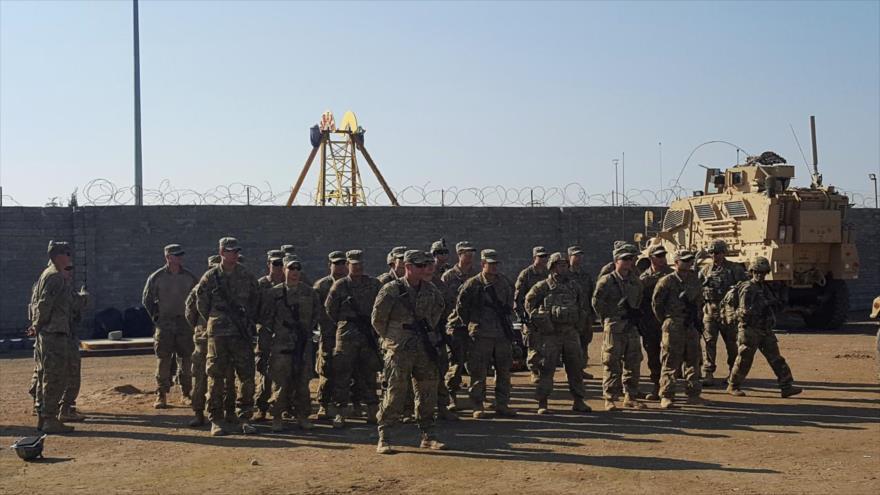 Soldados estadounidenses se reúnen en una base militar al norte de Mosul, Irak, 4 de enero de 2017. (Foto: Reuters)