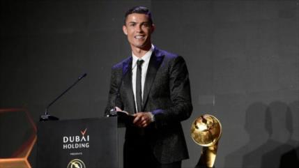 Vídeo: Cristiano Ronaldo supera a Messi y gana Globe Soccer 2019