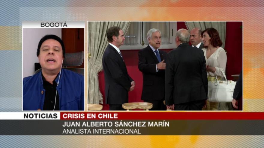 Sánchez Marín: Mentiras del Gobierno provocó protestas en Chile