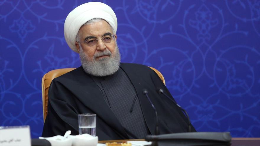 Rohani: Sanciones y presiones antiraníes de EEUU llegarán a su fin | HISPANTV