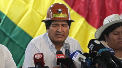 Morales y MAS eligen el 19 de enero candidatos presidenciales