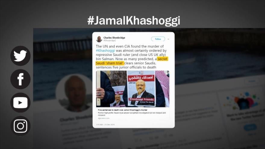 Etiquetaje: Reacciones a la sentencia saudí sobre el caso Khashoggi