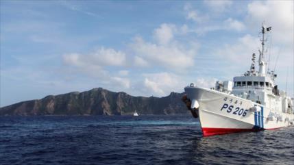 Japón denuncia violación de aguas territoriales por naves chinas