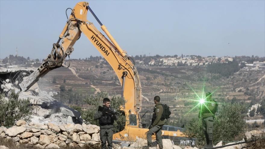 Palestina tacha de 'crimen de guerra' demolición de casas por Israel
