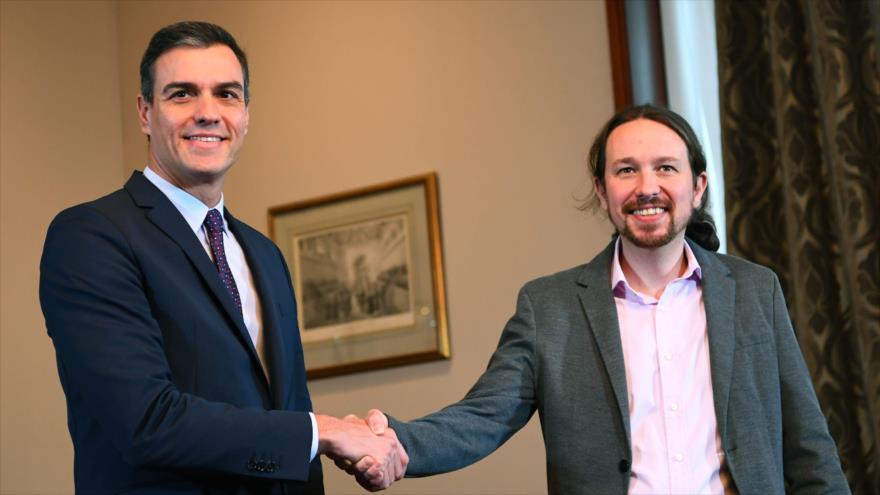 PSOE y Unidas Podemos firman su 'histórico' acuerdo de coalición