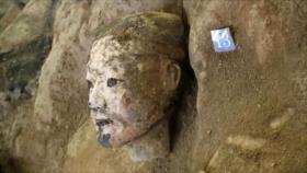 Descubren 220 guerreros de terracota del 1º emperador chino