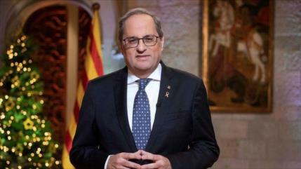 Torra: Solución para Cataluña pasa por permitir un referéndum