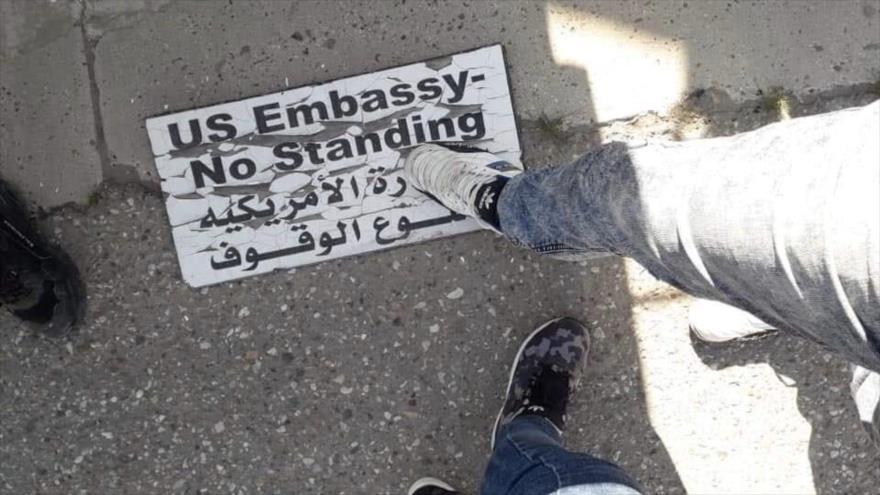 Líder iraquí: Embajada de EEUU en Bagdad es centro de complots   HISPANTV
