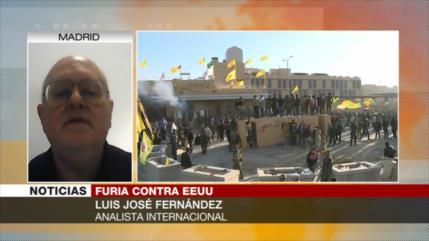 José Fernández: Pueblo iraquí ya está harto de injerencias de EEUU